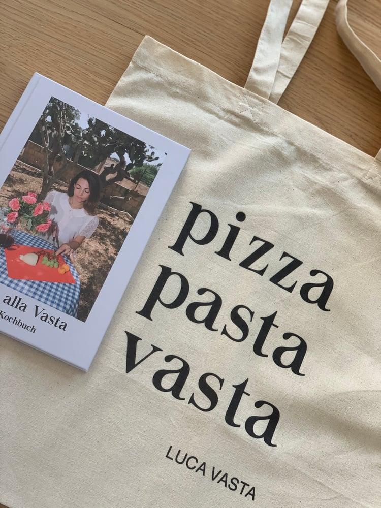 Image of Pasta alla Vasta Kochbuch + Vasta Bag