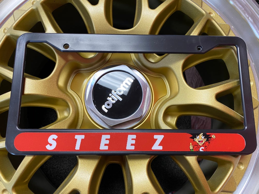Image of STEEZ PLATE FRAME