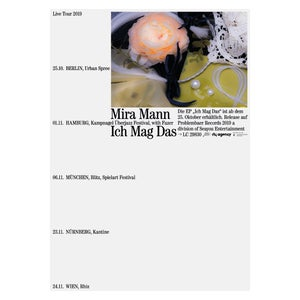 Mira Mann Tour Poster 2019