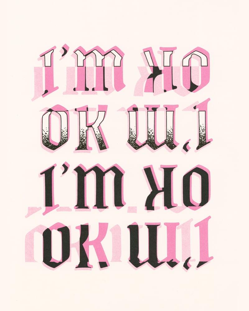 Image of I'M OK Poster