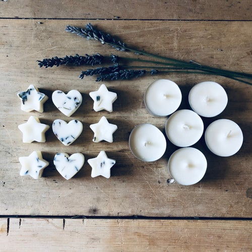 Image of Aromatherapy Soy Wax Melt & Tea Lights Refill Set