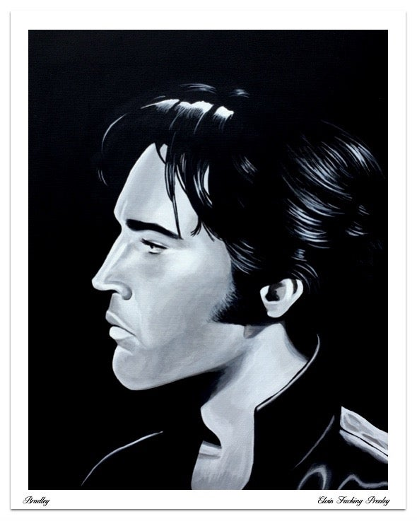 Image of Elvis F**King Presley Limited Edition Poster Print