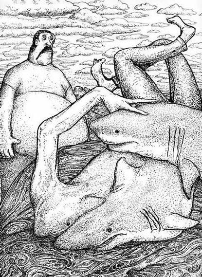 Image of Shark Danger by Dan Groth