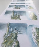 Image 2 of COVID-19 Statue of Liberty - Print