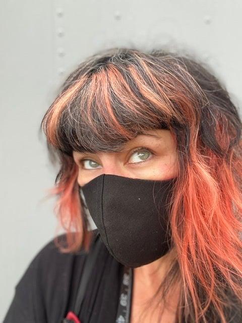 Image of Little Black Mask