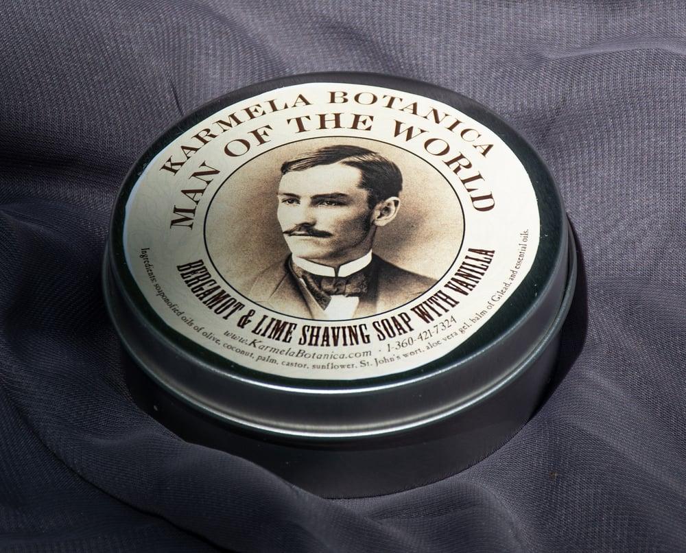 Image of Bergamot & Lime Shaving Soap