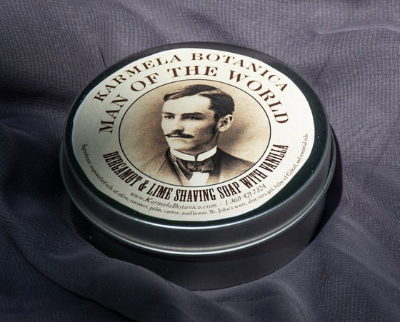 Image of Bergamot & Lime Shaving Soap