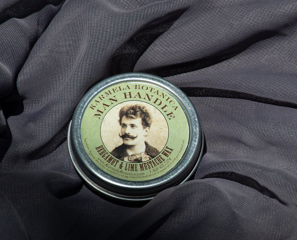 Image of Man Handle Bergamot & Lime Mustache Wax