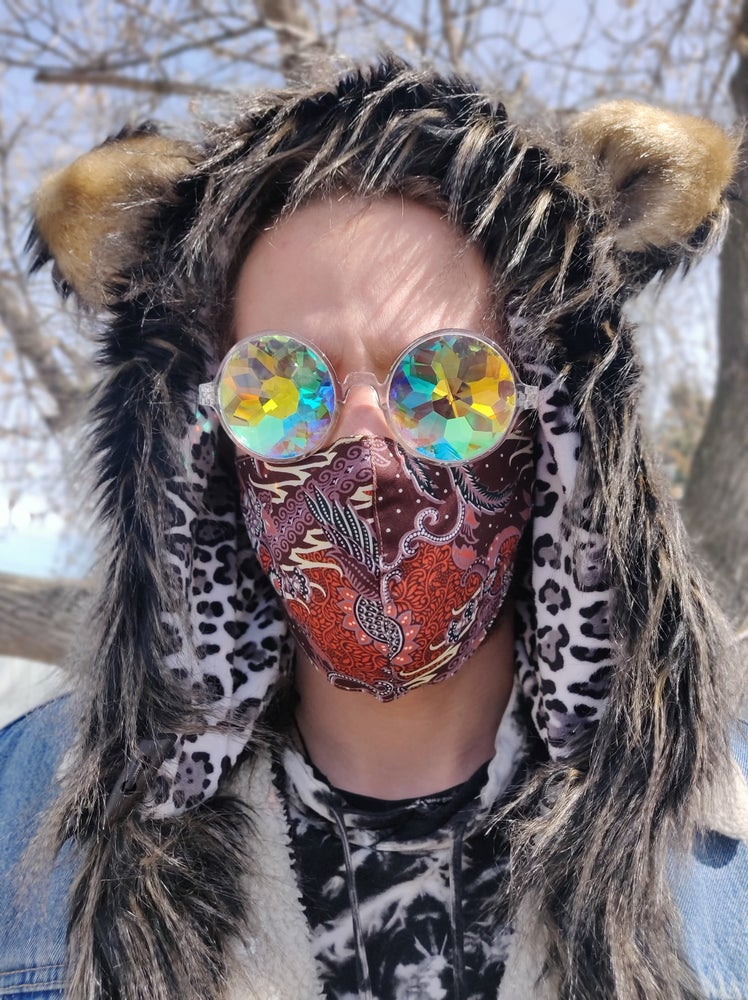 Image of Cabin Fever Cotton Mask