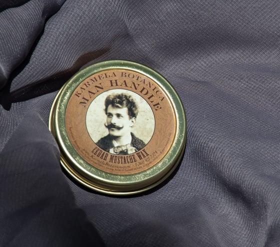 Image of Man Handle Cedar Mustache Wax
