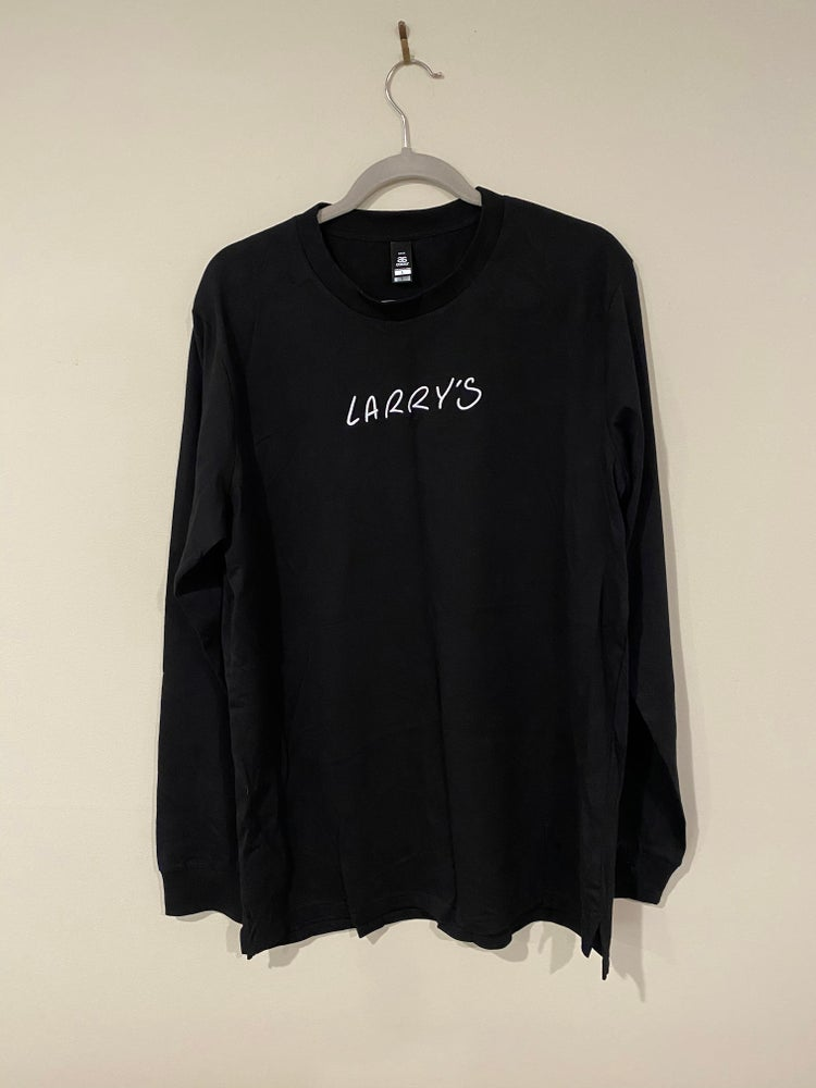 Image of Larry's Long Sleeve - BLACK