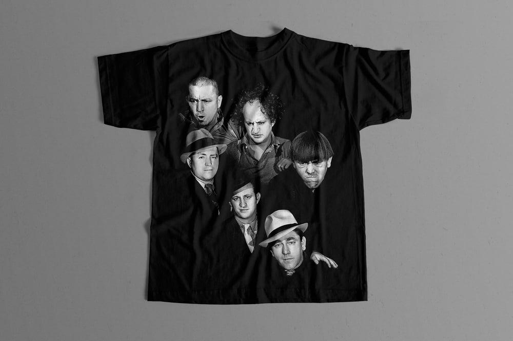 Image of The Three Stooges - Headshot T Shirt