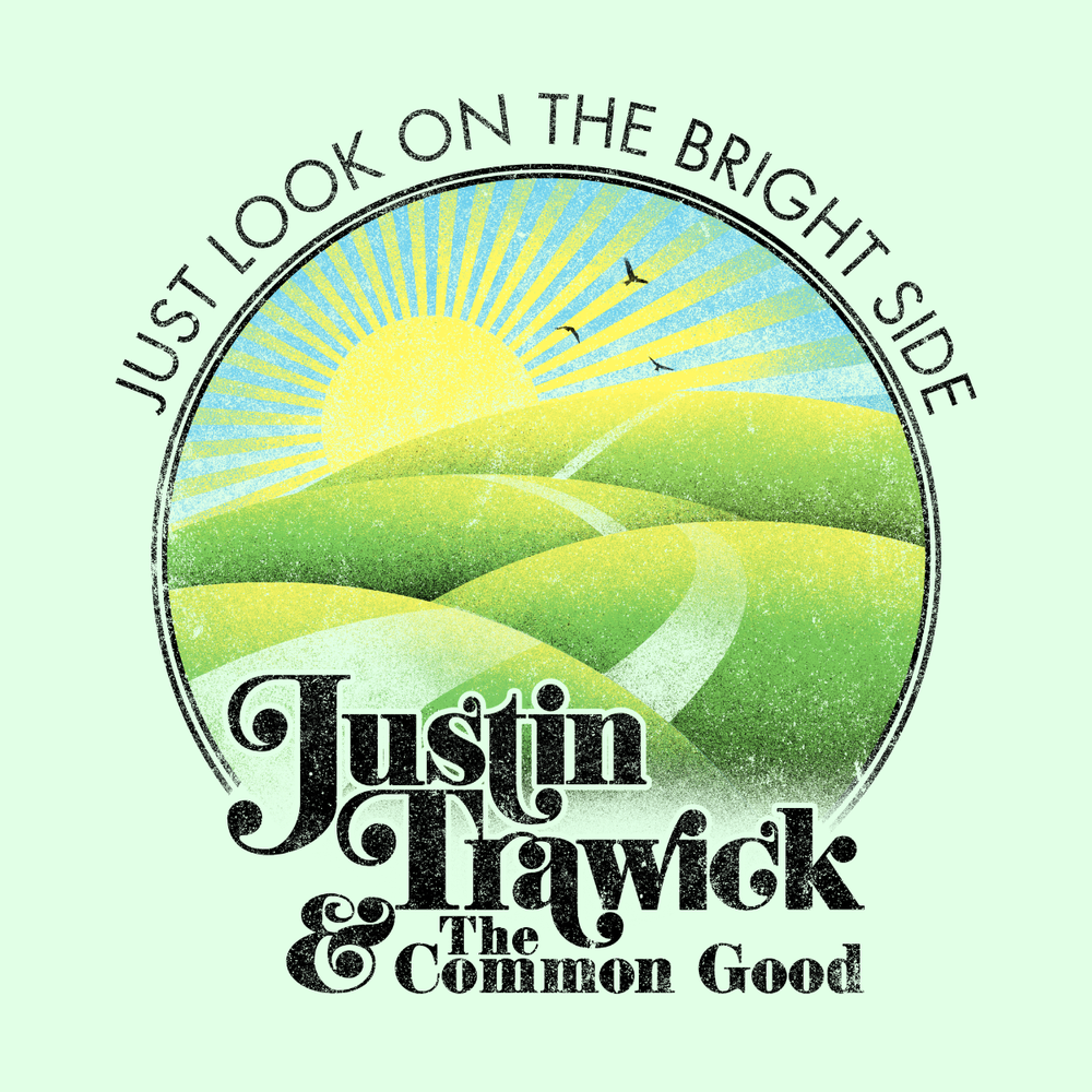 """Image of """"Just Look on The Bright Side"""" Sticker"""