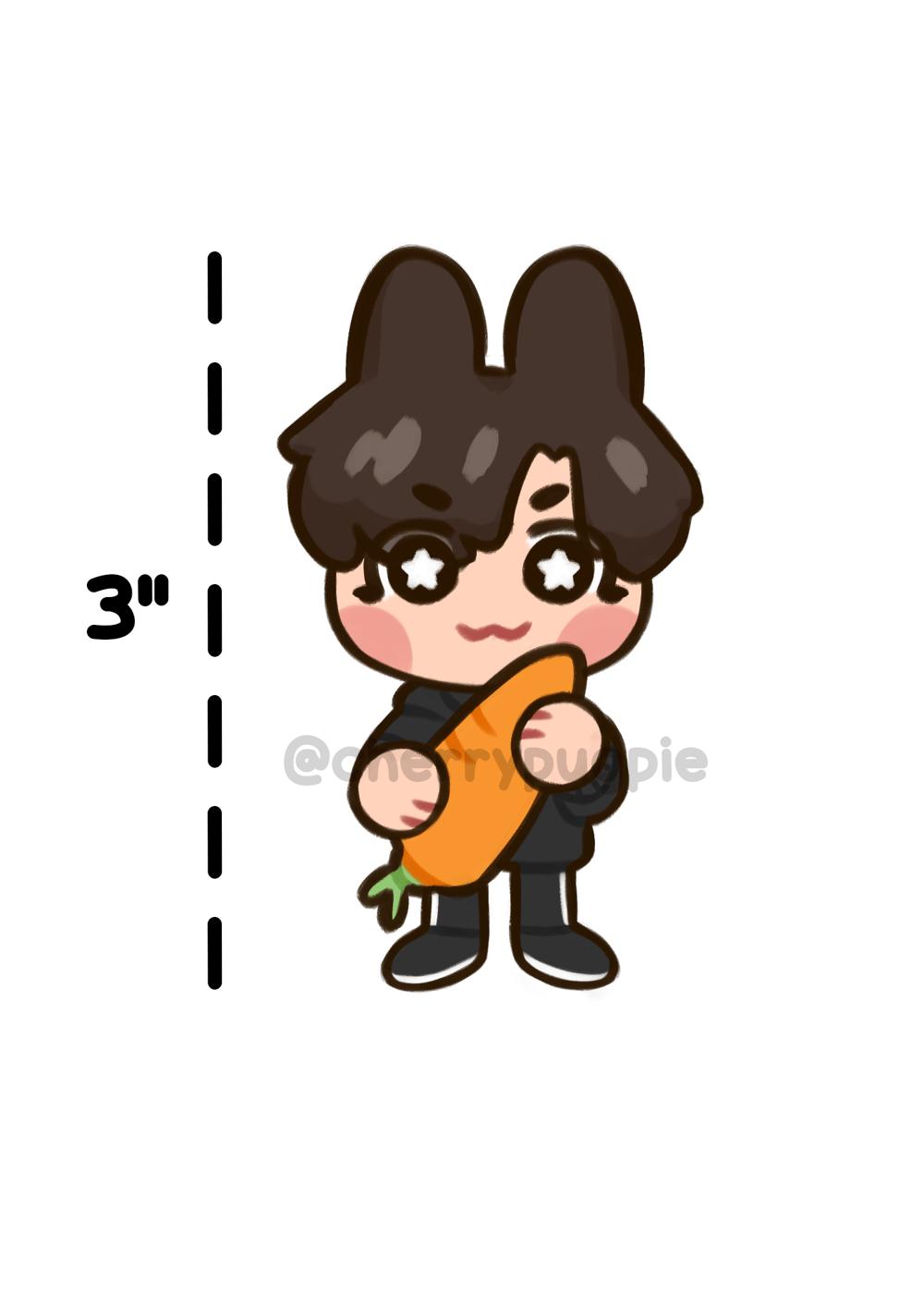 Bunny JK Standee