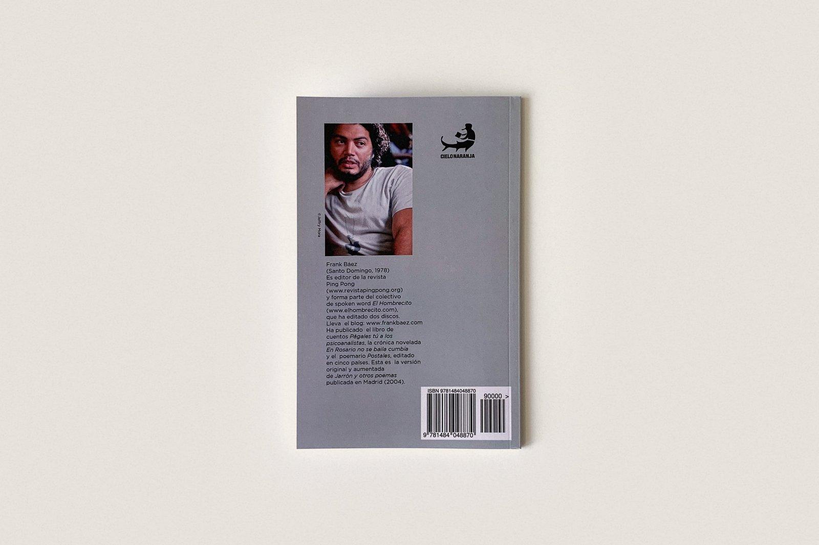 Libro: Jarrón y otros poemas — Frank Báez