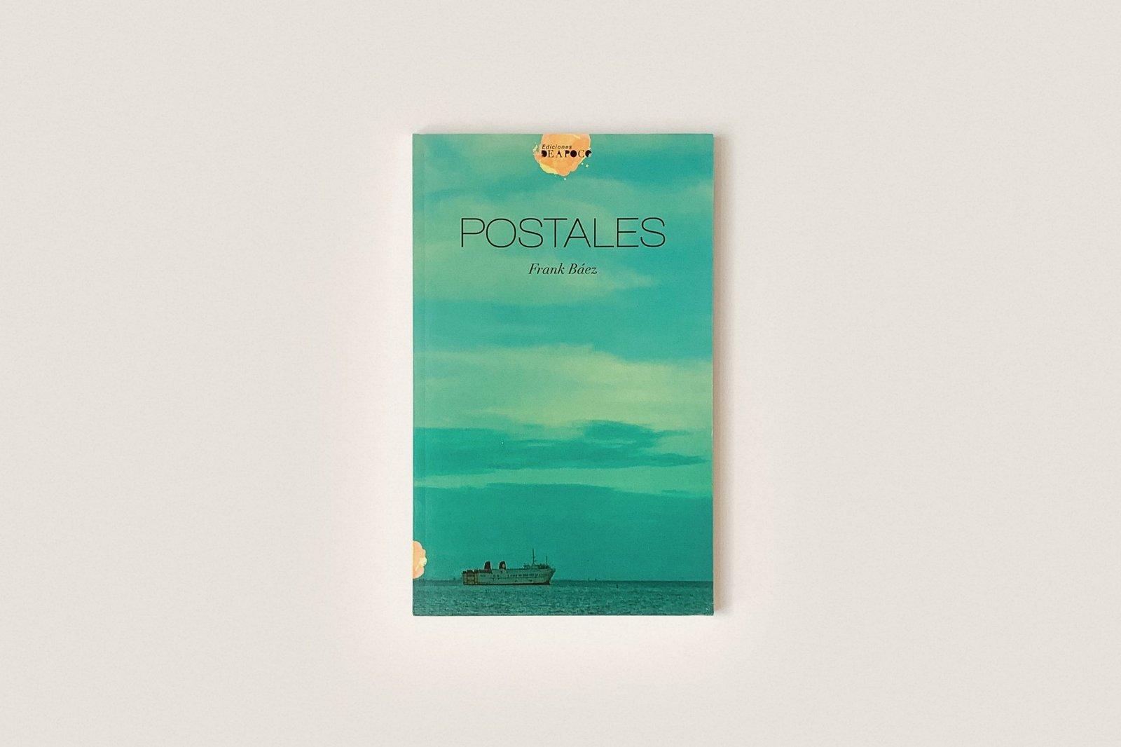 Libro: Postales — Frank Báez
