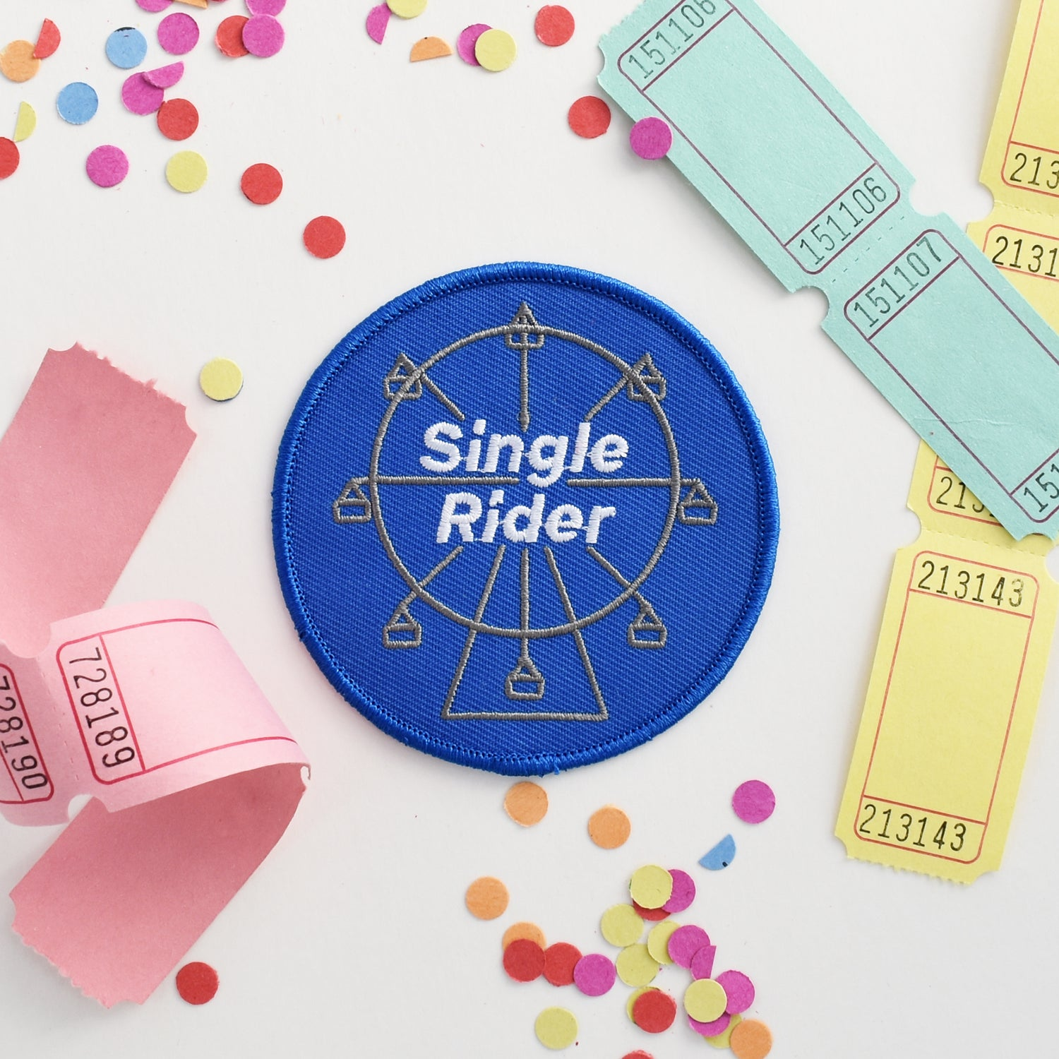 Image of Single Rider Patch