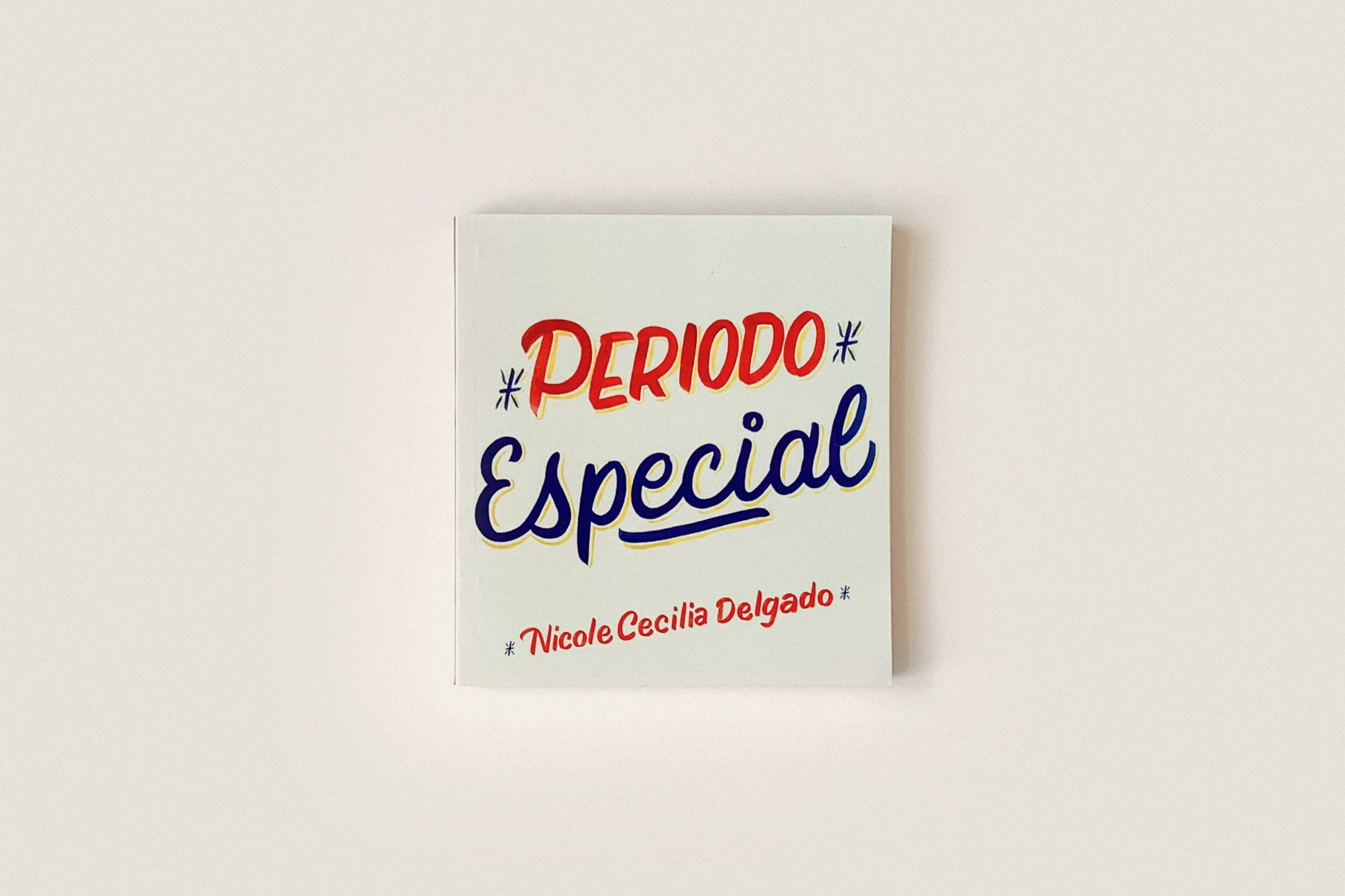 Libro: Periodo Especial — Nicole Cecilia Delgado