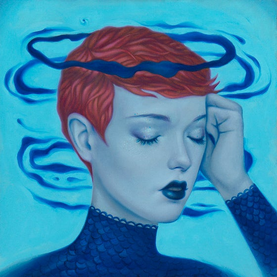 Image of 'Unpleasant Surprise' Painting
