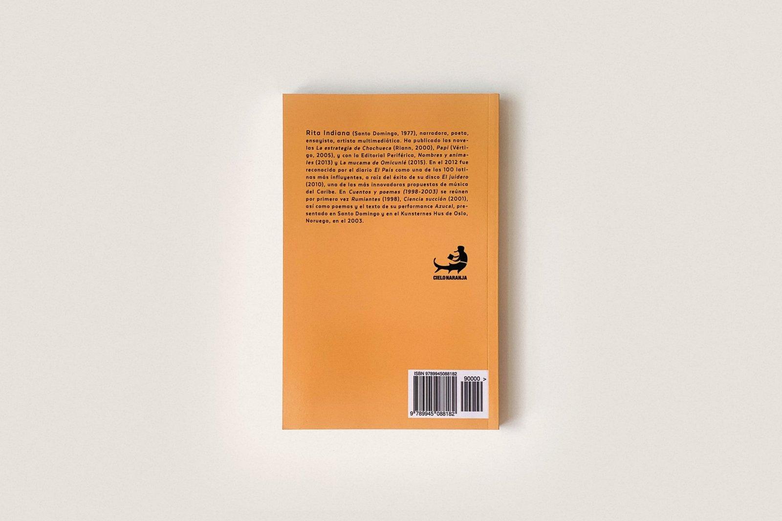 Libro: Cuentos y poemas (1998–2003) — Rita Indiana