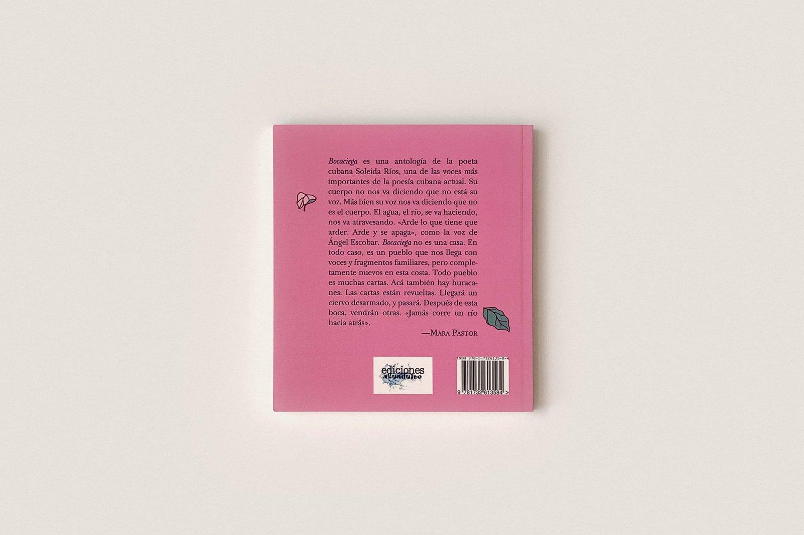 Libro: Bocaciega — Soleida Ríos