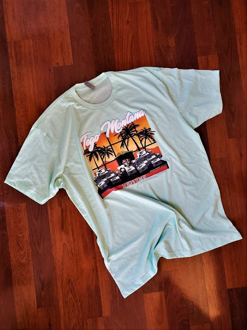 Image of Inzzo's Shed Tego Montana Tee (MINT)