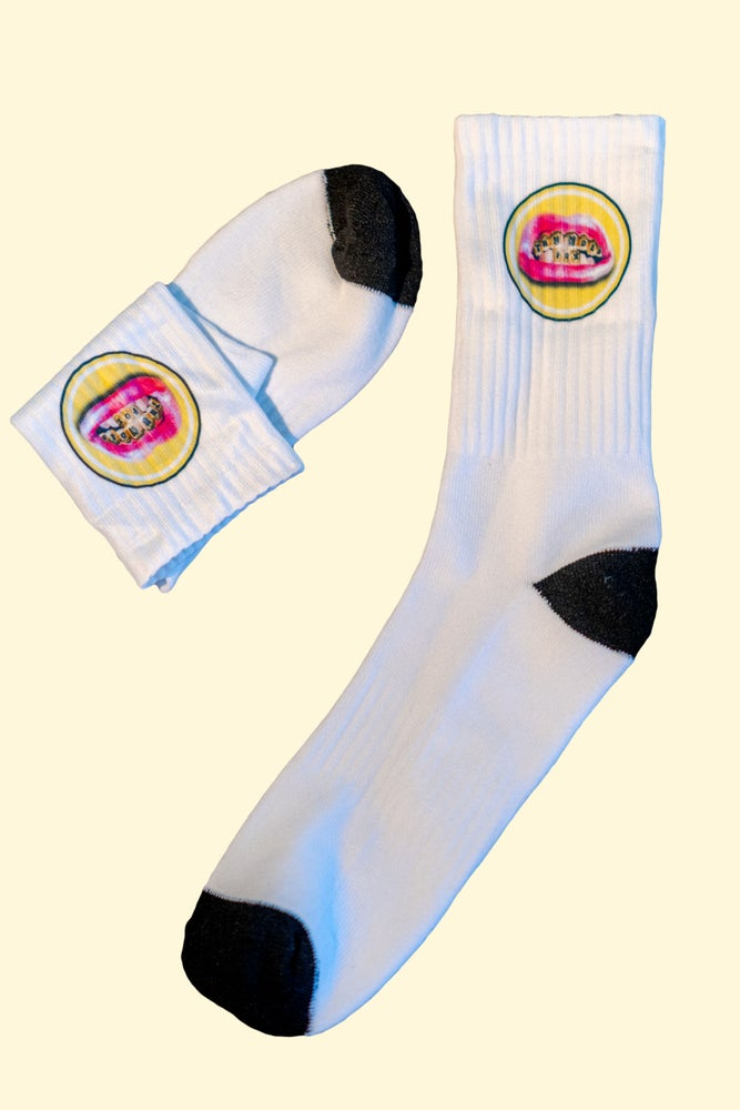 Image of Lips Logo Socks