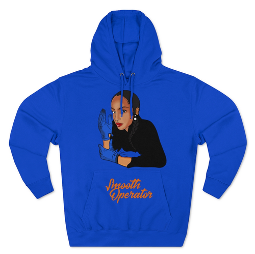 Image of Smooth Operator Blue Hoodie