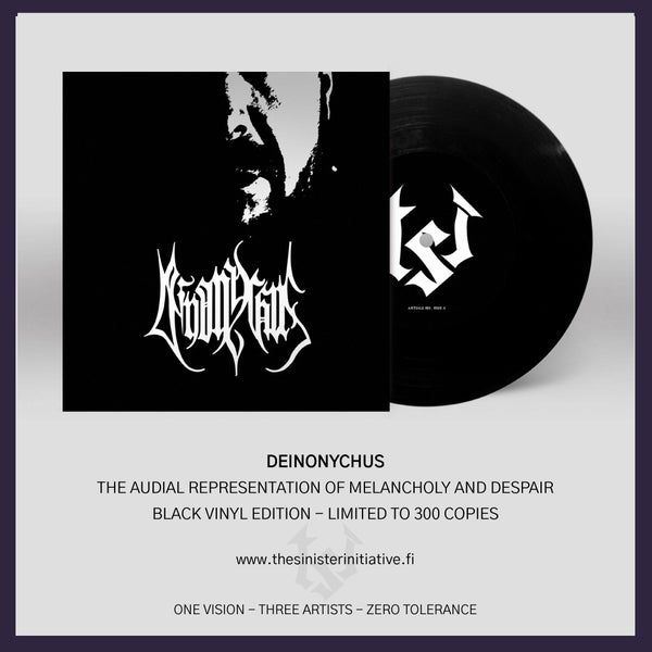 "Image of Deinonychus ""The Audial Representation of Misery and Despair"" 7"""