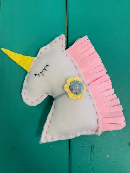 Image of Unicorn Softie CreativiTea Kit