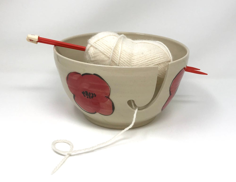 Image of X Large Poppy Yarn Bowl