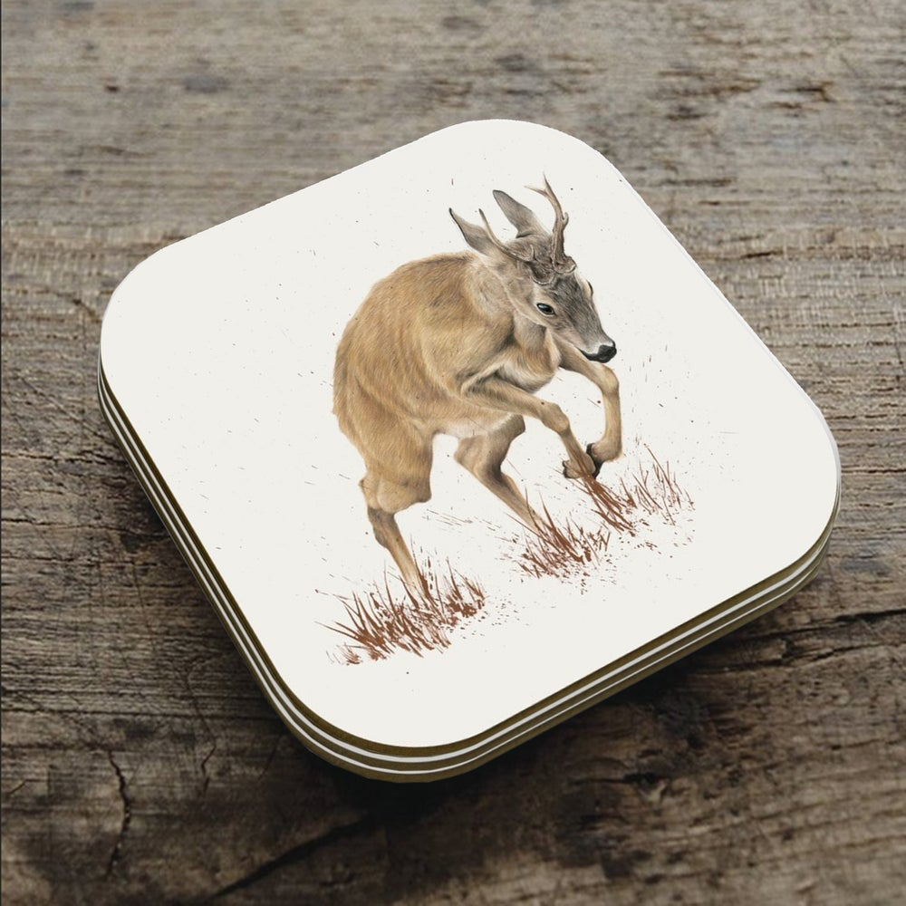 Image of 'Roe Rut' Coaster