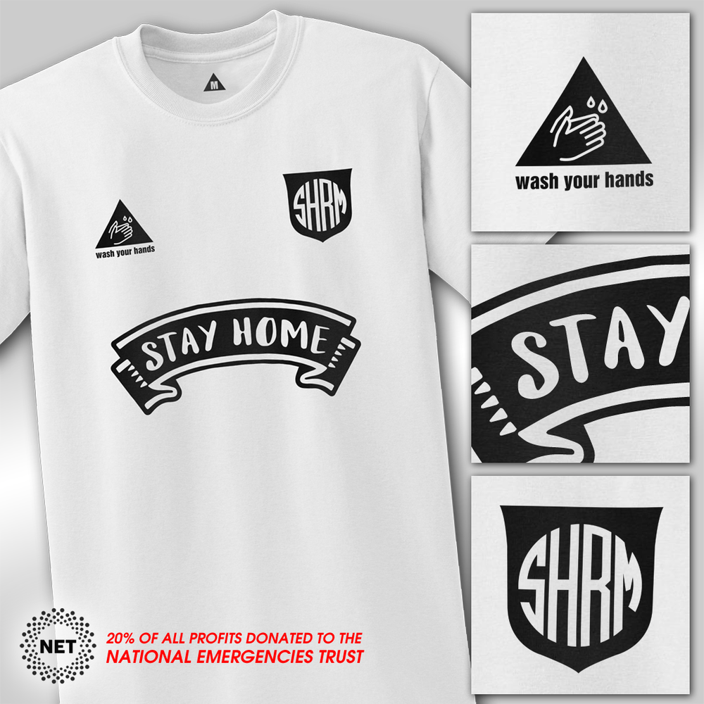 Image of SHRM 🆂🆃🅰🆈 🅷🅾🅼🅴 JERSEY