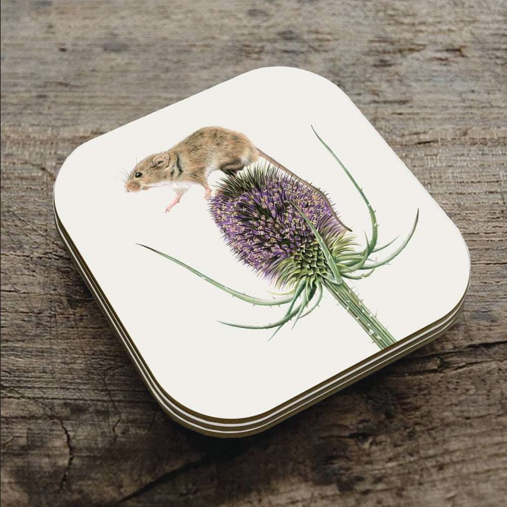 Image of 'One Small Step For Mice' Coaster