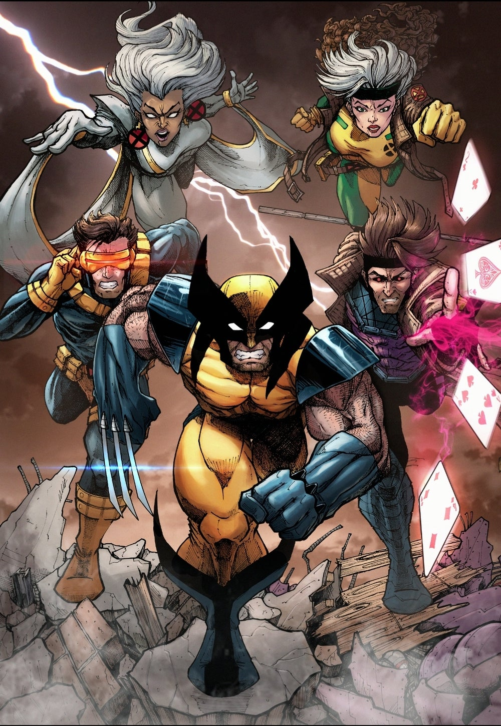 Image of Xmen art print