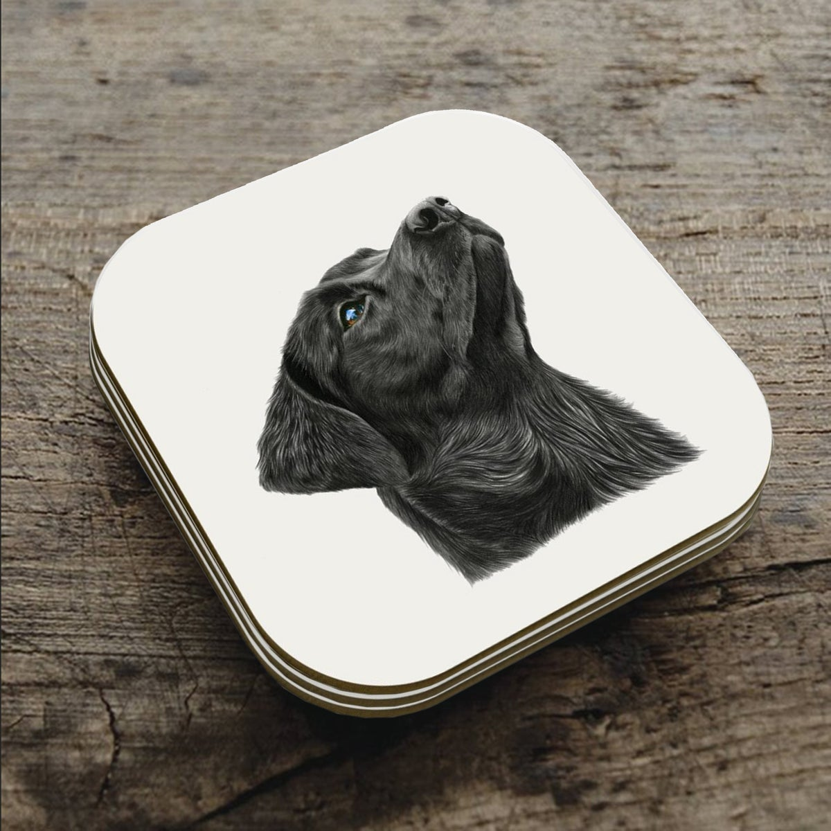 Image of 'Look of Love' Coaster