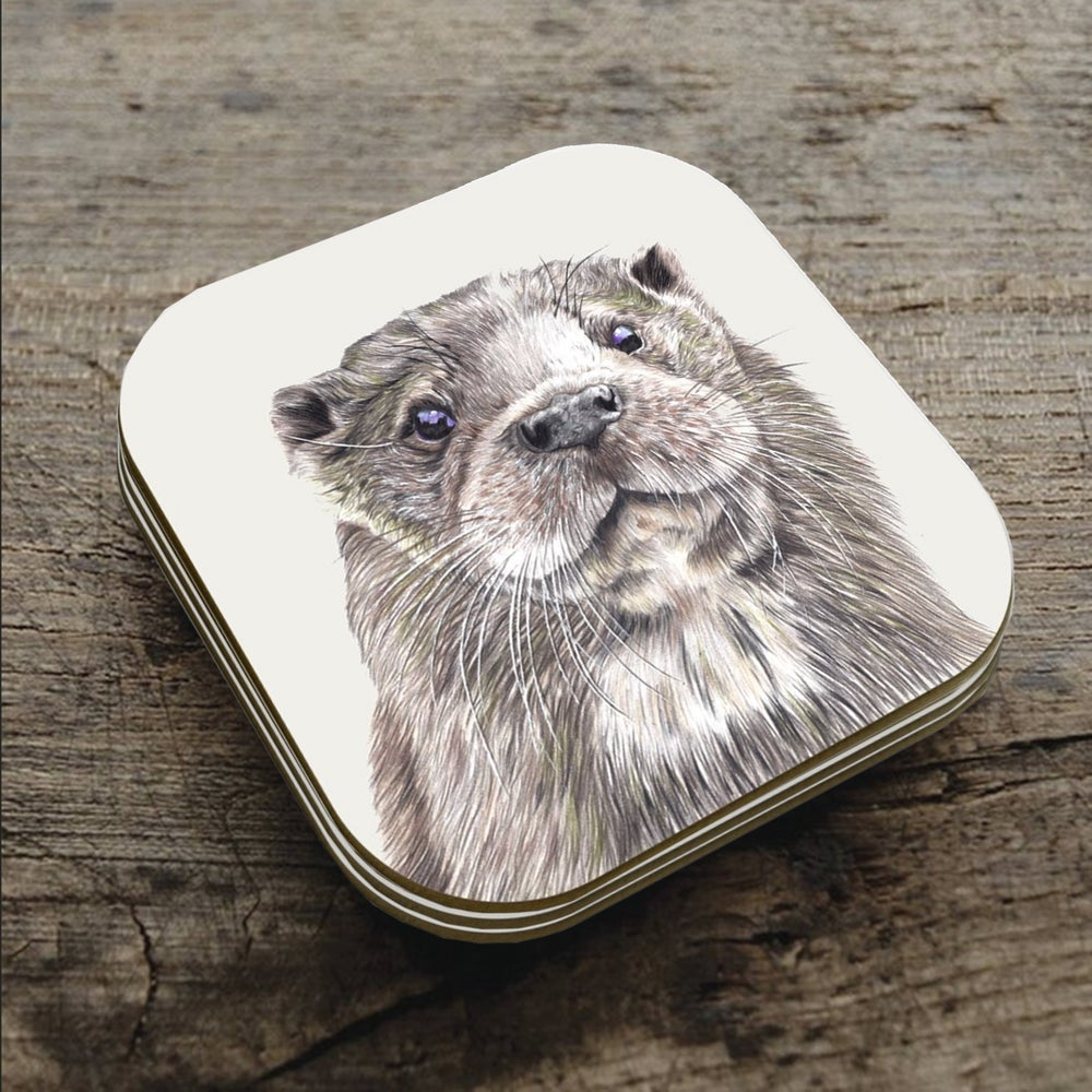 Image of 'Ozzy Otter' Coaster