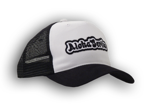 Image of Trucker Mesh Cap (black-white)