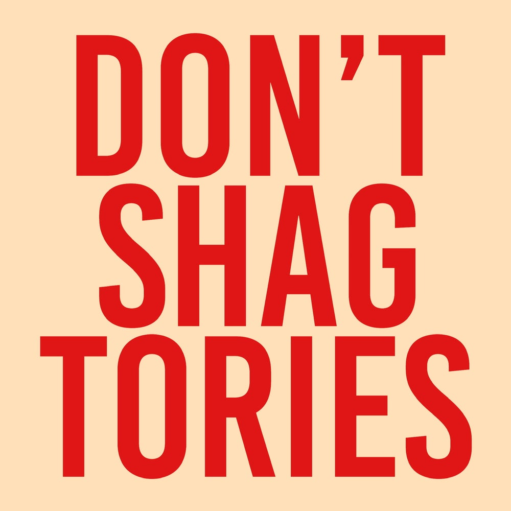 Image of Don't Shag Tories