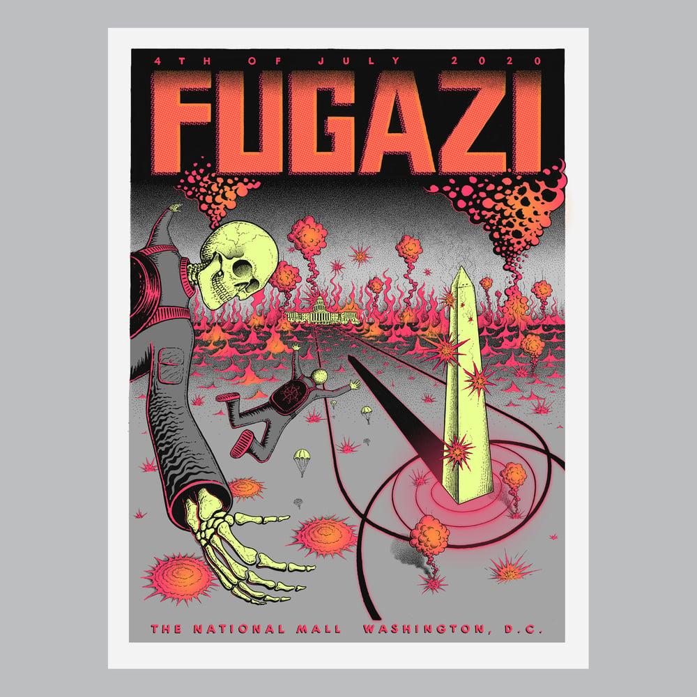 Image of Fugazi Reunion Poster