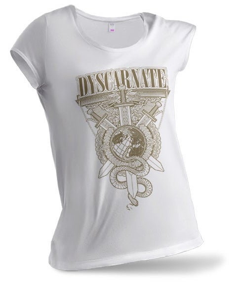Image of Gold Crest | Ladies White Shirt