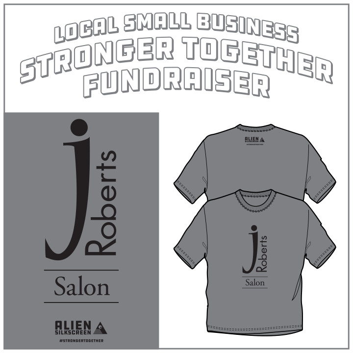 J Roberts Salon Stronger Together Fundraiser