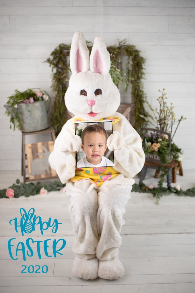 Image of Digital Easter Bunny Picture- Still available! You will get them back today!