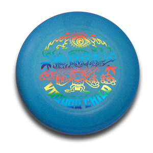 Image of Ultimate Frisbee - Voodoo Child (sparkling blue)