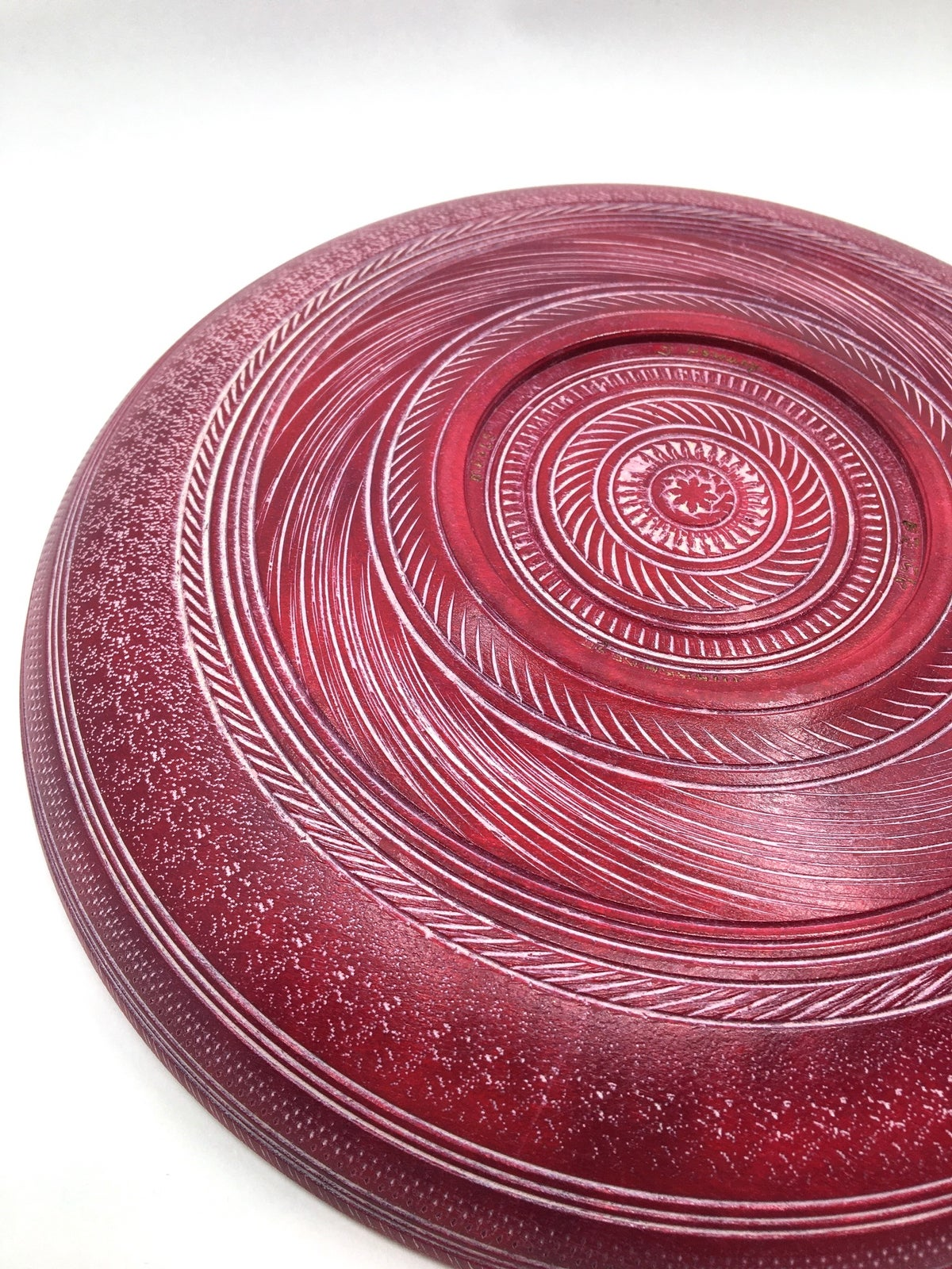 Wooden Burgundy Bowl by Jeff Hornung