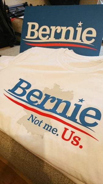 Image of T-Shirt Germany for Bernie