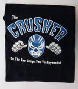 Image of T-Shirt.  The Crusher.   M. L. XL & XXL