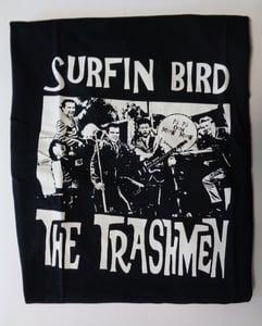 Image of T-Shirt : The Trashmen : Surfin Bird.   M. L. XL. XXL.