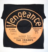 Image of T-Shirt. The Cramps : Human Fly.     M. L. XL. XXL.