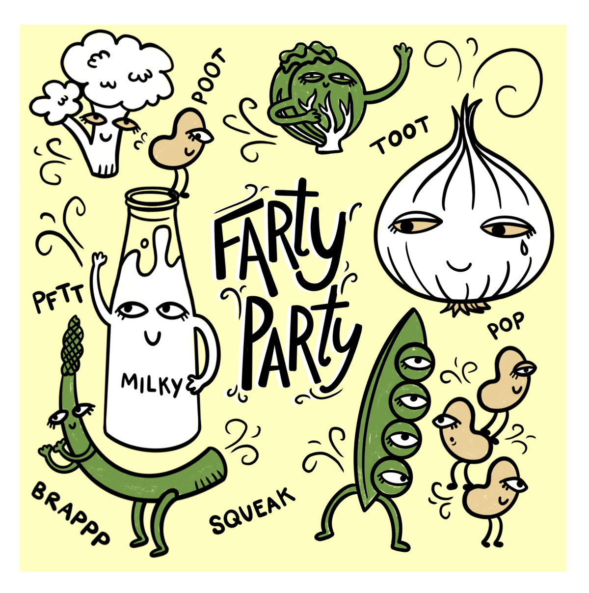Image of Farty Party Print